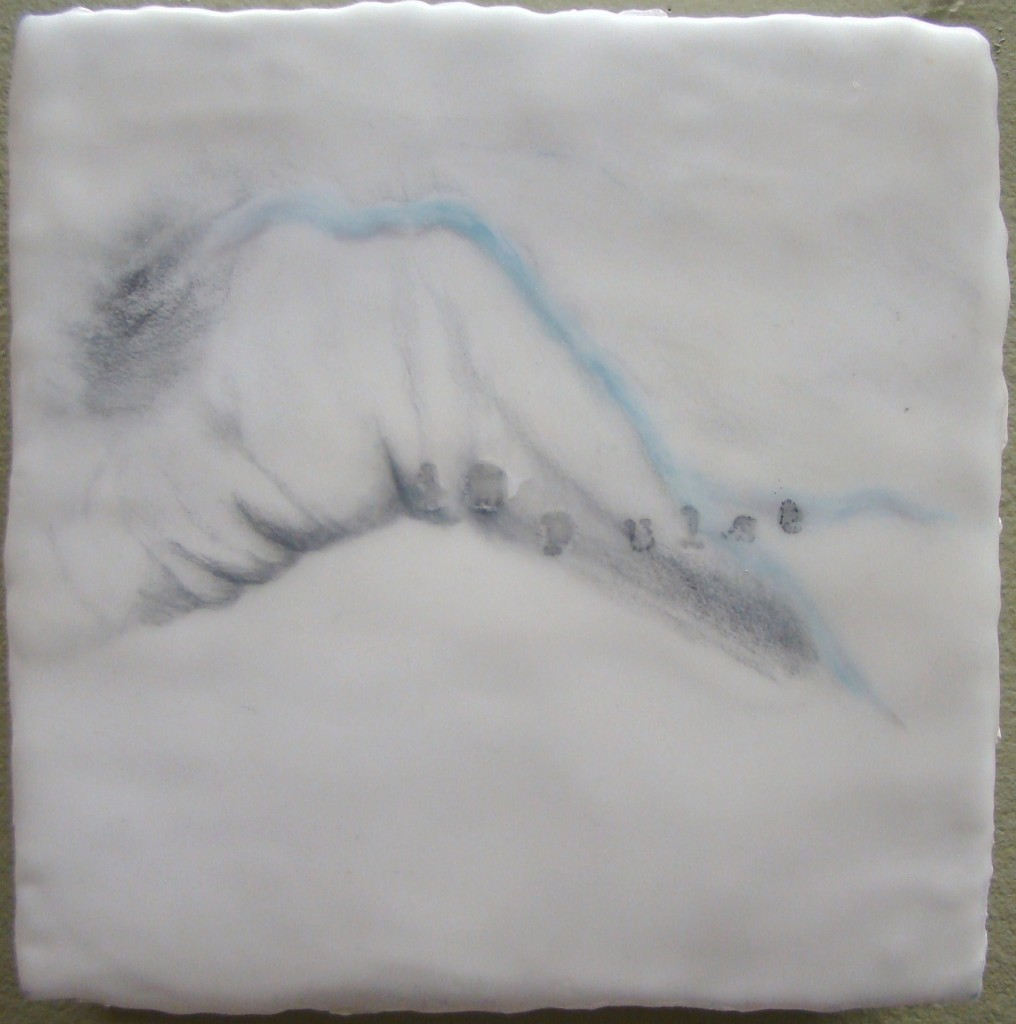 Impulse , Encaustic, 6