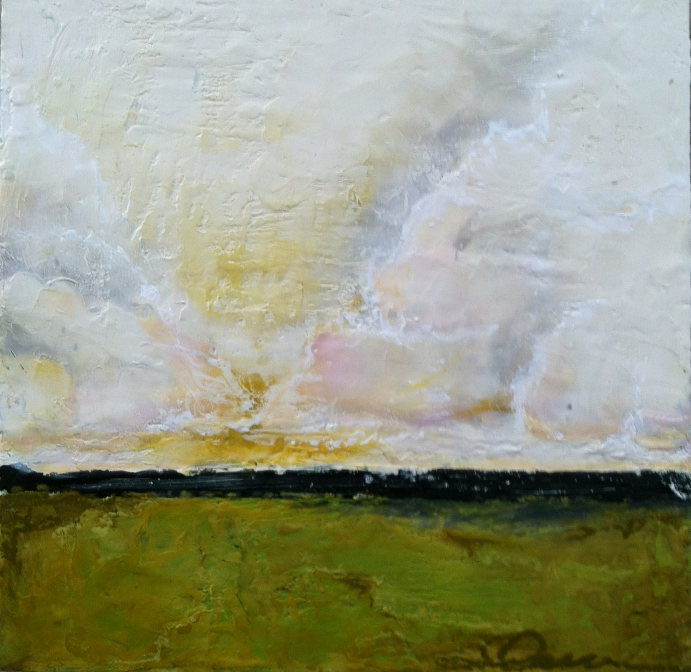 Encaustic Landscape